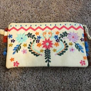 Handbags - Multicolor clutch. Brand new with tags.
